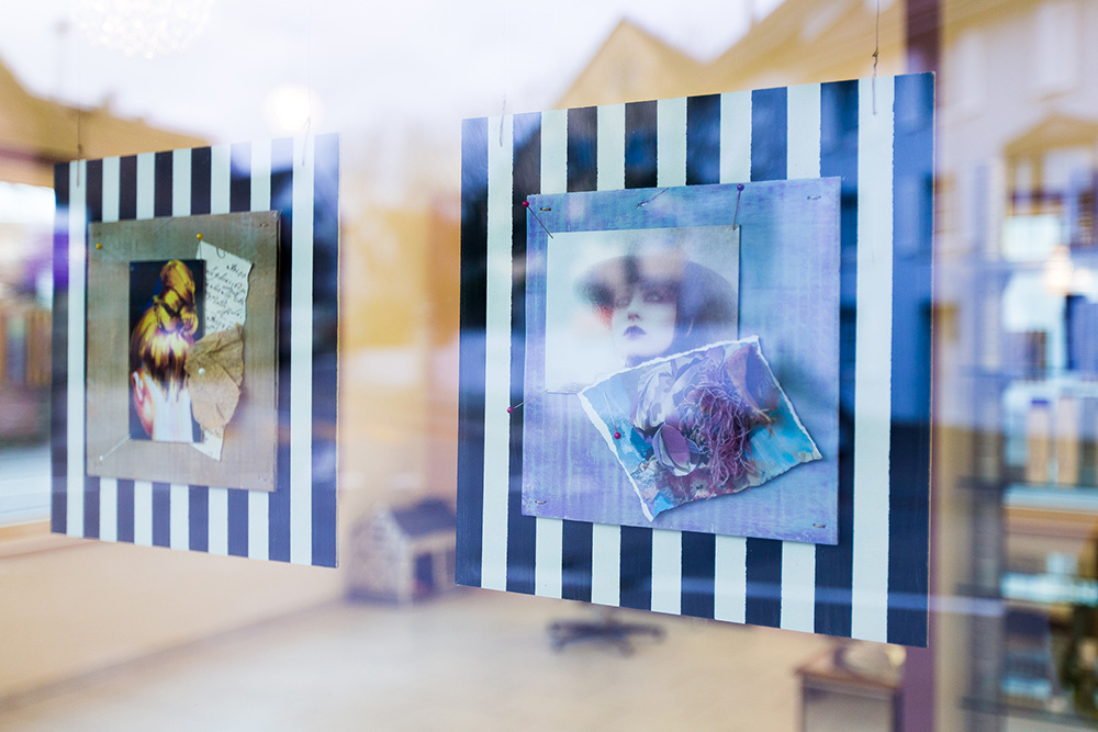 Schaufenster von Coiffeur Humanity