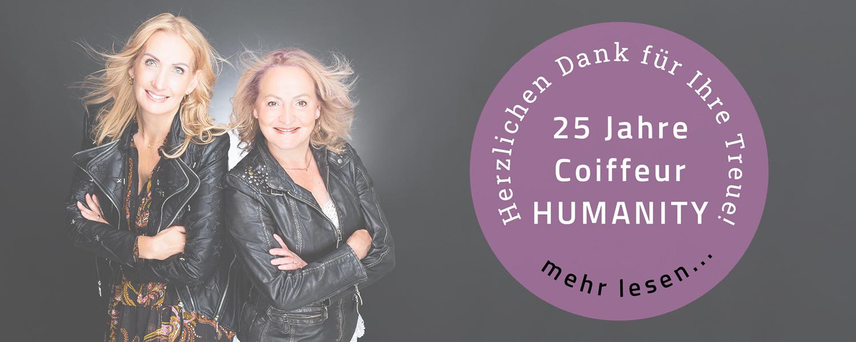 25 Jahre Jubiläum Coiffeur Humanity